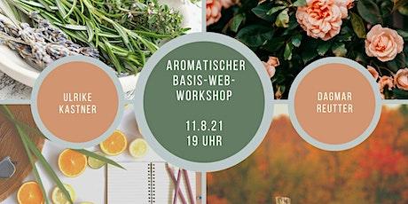 Aromatischer BASIS Web-Workshop mit ätherischen Ölen Tickets