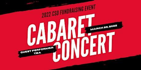 Concert III 2022 Cabaret Fundraiser tickets