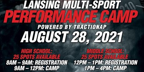 Lansing Multi-Sport Performance Camp tickets