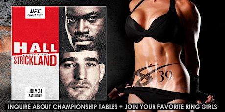 UFC Fight Night - Sapphire 39 Midtown NYC Hall vs Strickland tickets