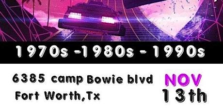 Retro Wave 1980s 1990s boletos