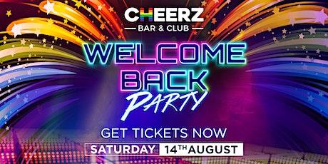 CHEERZ | The Big Re-Opening - Part II tickets