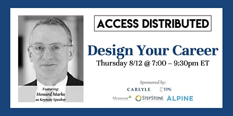 Design Your Career 2021 tickets