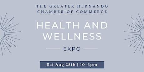 Free Hernando Chamber Health and Wellness Expo tickets