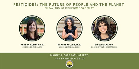 Pesticides: The Future of People and the Planet tickets