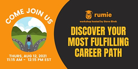 Discover Your Most Fulfilling Career Path tickets