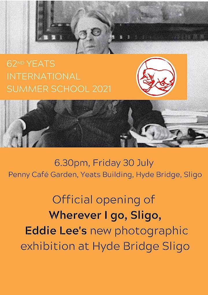 Launch of Eddie Lee's 'Wherever I Go, Sligo' image