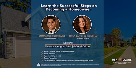 Learn the Successful Steps on Becoming a Homeowner tickets