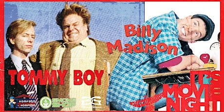 Tommy Boy  & Billy Madison Double Feature Drive-in Movie Night tickets