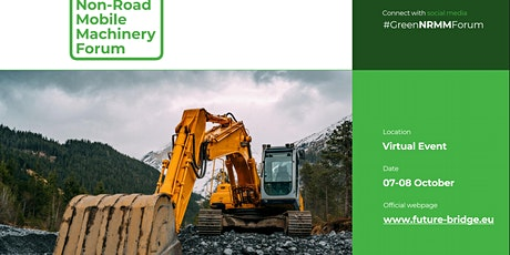 Green Non-Road Mobile Machinery Forum 2021 tickets