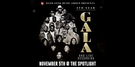 Band Geek Music Group 5th Year Gala & Live Recording tickets