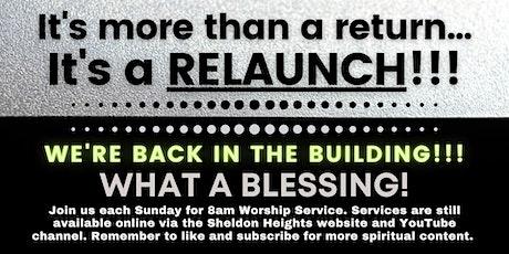 Sunday, August 1st 8am Worship Service tickets