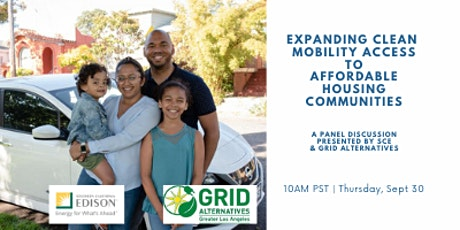 Expanding Clean Mobility Access to Affordable Housing Communities tickets