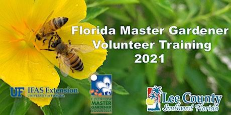 Florida  Master Gardener Volunteer Training tickets