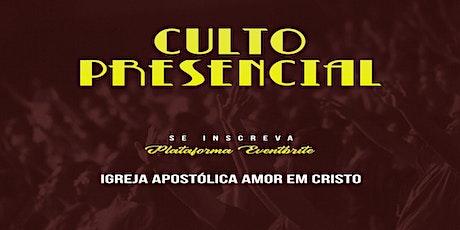 Culto de Celebração - 01/08/2021 ingressos