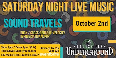 Sound Travels :  Saturday Night Live Music tickets