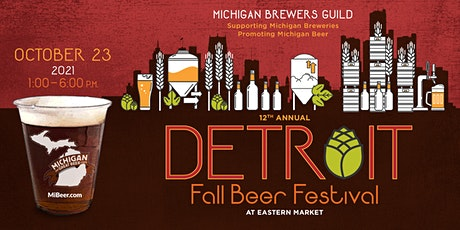 Michigan Brewers Guild 12th Annual Detroit Fall Beer Festival tickets