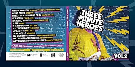 Three Minute Heroes tickets