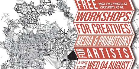 Workshops for Creatives - Media & Promotions tickets