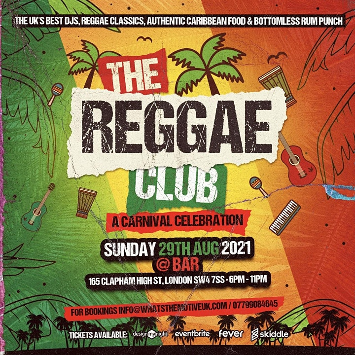 The Reggae Club - A Carnival Themed Brunch & Day Party image