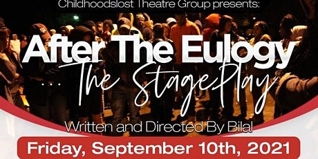 After the Eulogy  The Stage Play tickets