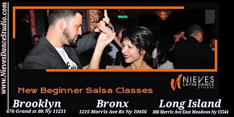 Williamsburg Salsa Dance Class for Beginners tickets