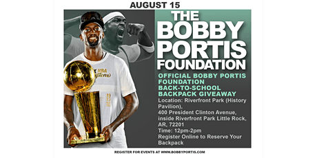 Official Bobby Portis Foundation Back-to-School Backpack Giveaway tickets