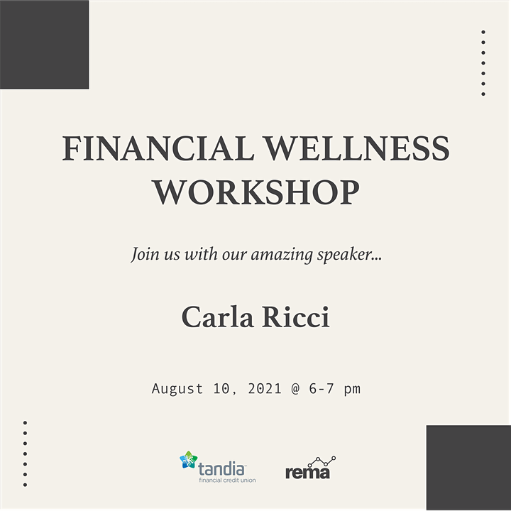 Financial Wellness Workshop Presented by Tandia Financial Credit Union image