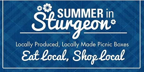 Summer in Sturgeon Picnic Box for 4 @ Celebrations Flare Catering tickets