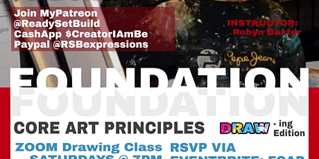 FOUNDATION A Drawing Class tickets