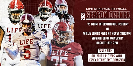 Life Christian Academy Football Game tickets