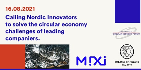 Nordic Solutions to Circular Economy Challenges: Do you have what it takes? tickets