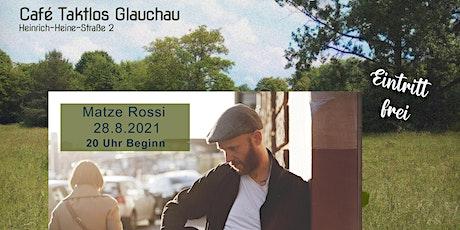 Gartenkonzert: Matze Rossi Tickets
