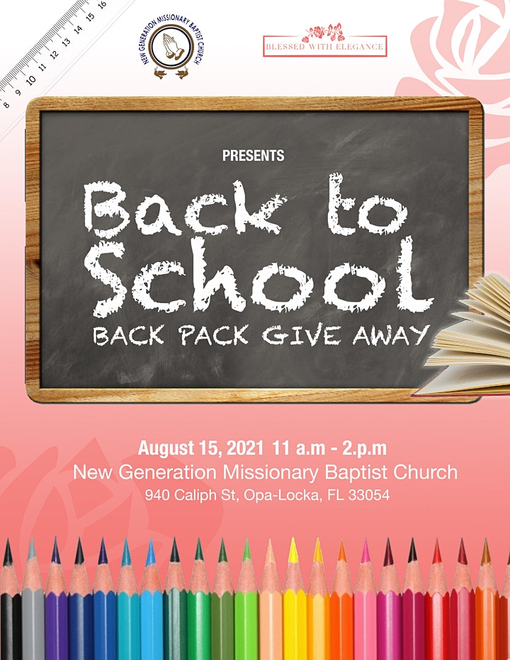 Back to School Backpack Giveaway image
