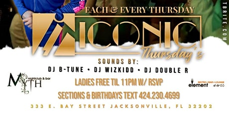 ICONIC Thursday's at Myth ! tickets