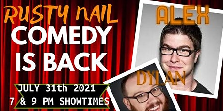 Rusty Nail Comedy: Featuring Alex Wood & Dylan Gott tickets