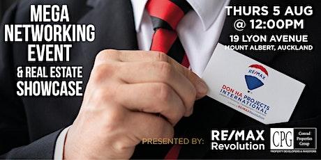 Mega Networking Event & Real Estate Showcase ingressos