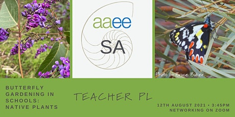 Butterfly Gardening with Native Plants in Schools: PL for Educators on ZOOM tickets