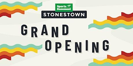 Sports Basement Stonestown Grand Opening tickets
