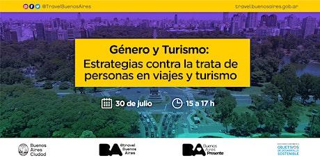 Género y Turismo: Estrategias contra trata de personas en viajes y turismo boletos