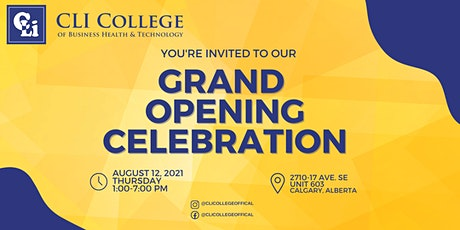 CLI College Open House + Free Tuition Scholarship Draw + Student Aid Info tickets