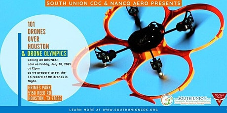 101 Drones Over Houston & Drone Olympics tickets