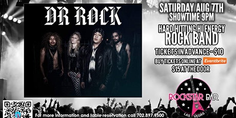DR. ROCK LIVE ON STAGE! AT THE ALL - NEW ROCKSTAR BAR, LAS VEGAS tickets
