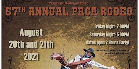 57th  Tehachapi Mountain PRCA Rodeo ( Friday Night) tickets
