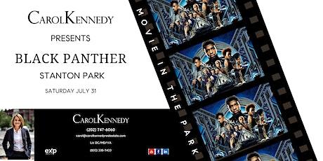 MOVIE IN STANTON PARK - BLACK PANTHER tickets