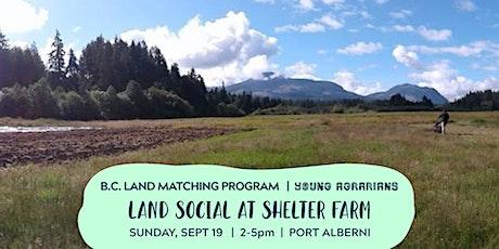Land Social at Shelter Farm tickets
