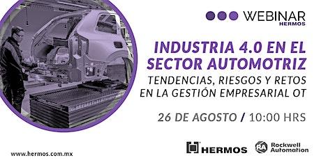 Industria 4.0 en el sector automotriz: Tendencias, riesgos y retos entradas