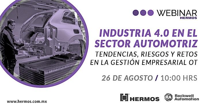 Imagen de Industria 4.0 en el sector automotriz: Tendencias, riesgos y retos