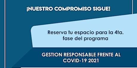 Sesión 2: Programa de Empresarialidad Responsable Frente al COVID-19 tickets