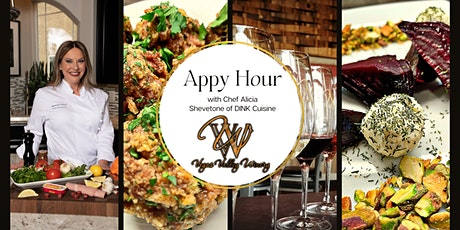Appy Hour with Chef Alicia  Shevetone of Dink Cuisine tickets